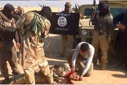 beheading iraqi soldier